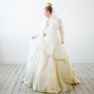 Monique Lhuillier Corset, Skirt, Jacket Wedding 12
